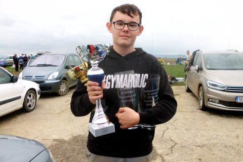 Filip Klobušický, víťaz svetového pohára.